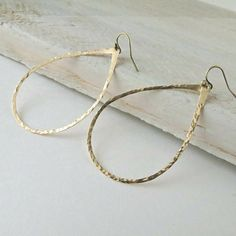 Hey, I found this really awesome Etsy listing at https://www.etsy.com/listing/193095265/brass-teardrop-earrings-brass-dangles