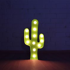 This warm LED lit, metal cactus light is the perfect way to bring a little wild…