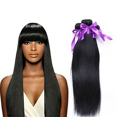 Brazilian Virgin Hair Straight 4pcs lot 100G/PC Unprocessed Virgin Straight Human Hair Extension Rosa Hair Brazilian Straight Virgin Hair * This is an Amazon Affiliate link. Details can be found by clicking on the image.