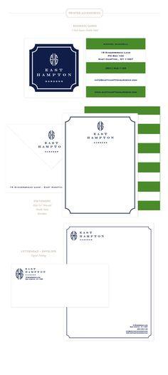 East Hampton Gardens Printed Materials | Emily McCarthy Branding