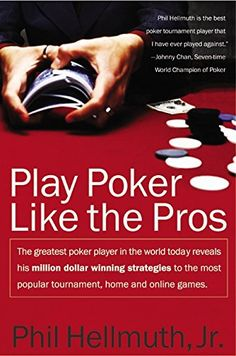 Play Poker Like the Pros: The greatest poker player in the world today reveals his million-dollar-winning strategies to the most popular tournament, home and online games by Phil Hellmuth Quizzes Games, Elephants Playing, Online Video Games, Modern Games, Green Books, Online Poker, Deck Of Cards, Audio Books, Card Games