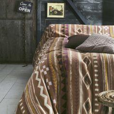 Plaid, sprei en deken in fleece met print