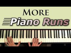 Fast piano runs - or fills, as they're often called - can make your playing seem mature and sophisticated. Learning to play them can really help you wow your...