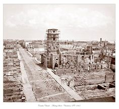 Civil War Photo - View from Mills House - Charleston, SC 1865