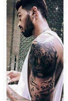 Image result for Hardik Pandya tiger tattoo