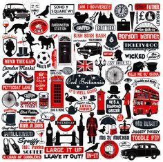 Czerwony podbija szarość, która panuje na ulicach Wielkiej Brytanii.