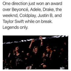 They won best international artist @ ARIAS bless