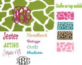 Monogrammed - Personalized license plate, car tag $24