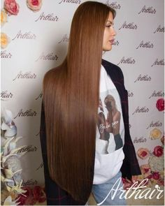 Enjoy the beauty of shiny and silky and smooth beautiful hair. Curled Hairstyles, Straight Hairstyles, Cool Hairstyles, Silk Hair, Hair A, Silky Smooth Hair, Beautiful Long Hair, Amazing Hair, Rapunzel Hair