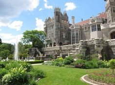 Crimson Peak Filming Location Casa Loma Due to its unique architectural character in Toronto, Casa Loma has been a popular location for movies and TV. For example, it has served as a location. Wedding Venues Ontario, Toronto Wedding, Pioneer Village, Garden Features, Outdoor Wedding Venues, Private Garden, Filming Locations, Historical Sites, Beautiful