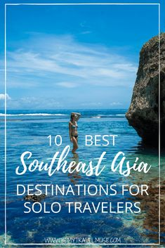 Here are the top 10 Southeast Asia destinations for solo travelers. These destinations are beautiful easy to travel in and great places to meet other solo travelers. Some are popular some are up and coming and some are off the beaten path. Bali Travel, Thailand Travel, Best Places To Travel, Cool Places To Visit, Laos, Sri Lanka, Vietnam, Travel Photographie, Solo Travel Tips