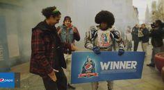 Denver Broncos Fans Win Free Pepsi Via Magical Vending Machines
