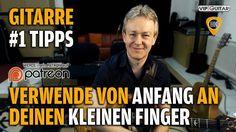 Verwende von Anfang an deinen kleinen Finger - Gitarren Hacks #1 Tipps