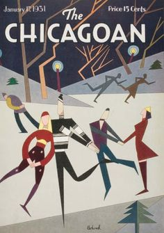 Behind the Beautiful Covers of The Chicagoan, the City's Short-lived, Art Deco-era Answer to The New Yorker