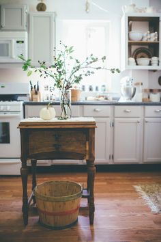Always a fan of a used, and therefore much-loved, butcher block, when I came…