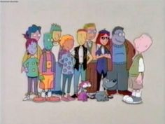Cartoon TV Shows From the 90s | view original image )