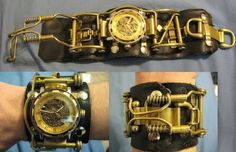 20 Awesome Steampunk Watches | Walyou ✿ ☻. ☻ https://www.steampunkartifacts.com
