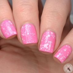 Want some ideas for wedding nail polish designs? This article is a collection of our favorite nail polish designs for your special day. Read for inspiration Vegan Nail Polish, Pink Nail Polish, Shellac Nails, Acrylic Nails, Manicures, Nail Manicure, Cute Nails, Pretty Nails, Pretty Makeup