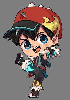 Boboiboy Anime, Anime Art, Boboiboy Galaxy, I Wallpaper, Kittens Cutest, Chibi, Animation, Fan Art, Manga