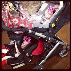 Britax B-Ready Stroller twins