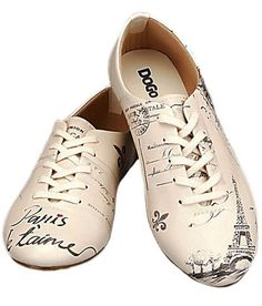 Paris Je Taime Party Shoes by Dogo (Cool shoes I'd have absolutely NOTHING to wear with)