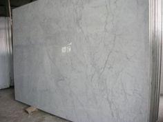 White Carrara random slabs: