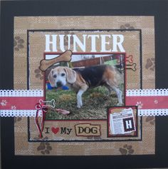 HUNTER - Scrapbook.com