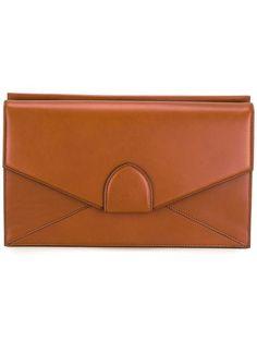 BERTONI 1949 'Dafne' clutch. #bertoni1949 #bags #leather #clutch #hand bags #