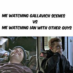 yesss Gallavich forever <3