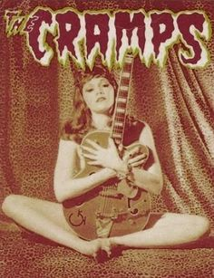 Poison Ivy - The Cramps I saw them in Portland, Maine, 1981