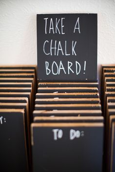 Mini #Chalkboard #favors!