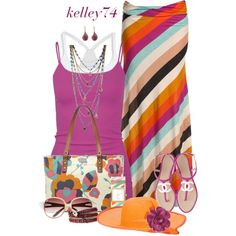 Colorful Maxi Skirt :)