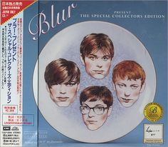 Blur Special Collector's Edition 1994 Japanese exclusive 18-track CD album, including rare B-sides. Note the band's bizarre chins.