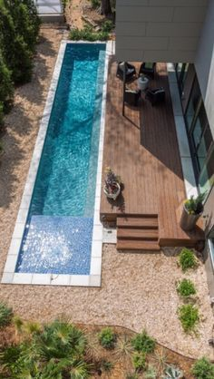 The most obvious shape for a pool - why don't we see more like this?