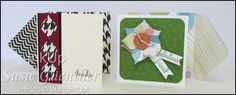 3x3 Notecards - Envelope Punch Board (Sharon Cline - Inkup)