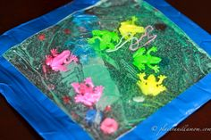 table top sensory bag