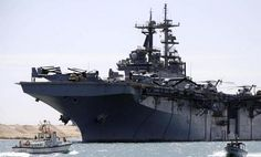 U.S. Navy ships in Red Sea move closer to Egypt amid turmoil