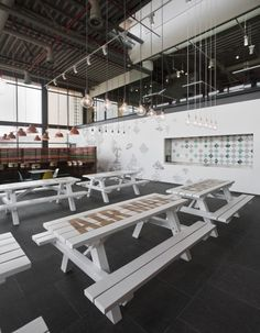 Nike Canteen @ Nike EMEA Headquarters, designed by UXUS & Nike Design Team