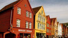 Bryggen - Bergen, Noruega/Bryggen - Bergen, Norway