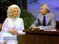 Dolly Parton on the Tonight Show starring Johnny Carson.  Of all the shows I remember this one best.