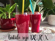 Receta de batido Rojo DETOX con thermomix - zumos y bebidas thermomix - Thermomix