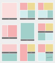 Freebie Blog Photo Templates and Fabric Labels