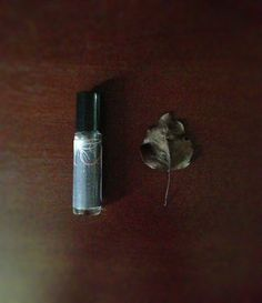 Bonfire Perfume Oil - Roll On Perfume - Campfire, Dried Leaves, Charred Woods, Forest Fragrance