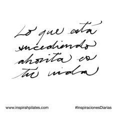 Lo que está sucediendo ahorita es tu vida.  #InspirahcionesDiarias por @CandiaRaquel  Inspirah mueve y crea la realidad que deseas vivir en:  http://ift.tt/1LPkaRs