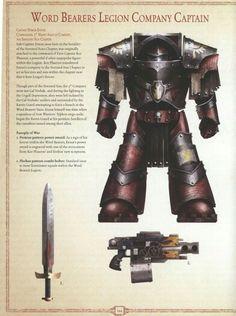 Word Bearer legion Captain