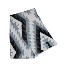 Adana Throw Blanket - Pewter