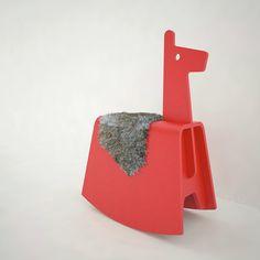 Upa rocking llama on Behance
