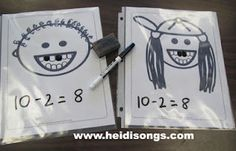 Loose Tooth Subtraction! Free download at http://heidisongs.blogspot.com.