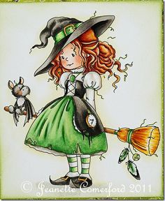 Little witch- looks like me! :)
