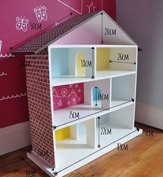 Doll House Plan For Barbie Admirable Diy Casa Bonecas Dollhouse And Diy Furniture Plans, Barbie Furniture, Dollhouse Furniture, Kids Furniture, Bedroom Furniture, Homemade Dolls, Homemade Barbie House, Doll House Plans, Diy Casa